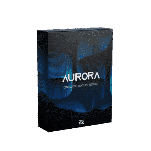 Aurora - Cinematic textures product box